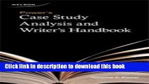 Books Power s Case Study Analysis and Writer s Handbook Free Online