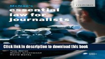 Books McNae s Essential Law for Journalists Free Online