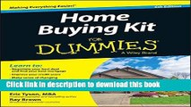Books Home Buying Kit For Dummies Free Download