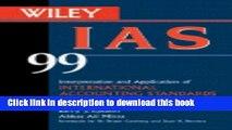 Ebook Wiley IAS 99 for Windows(r): Interpretation and Application of International Accounting