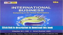 Books International Business: Competing in the Global Marketplace - International Economy Edition