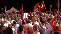 """İstanbul Eğitim ve Araştırma Hastanesi Doktorları Saraçhane Parkı'nda """"Demokrasi Nöbeti""""Ne Katıldı"""