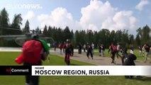 Russia: 2016 world military parachuting championships