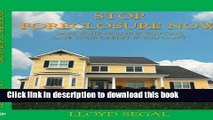 Ebook Stop Foreclosure Now: Save Your House If You Can, Save Your Credit If You Can t Full Online