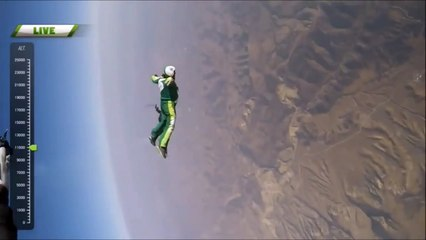 HEAVEN SENT - Luke Aikins Jumps Out of a Plane Without a PARACHUTE!