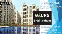 Gaur Siddhartham  Siddharth Vihar Ghaziabad Luxury Apartments Next to Indirapuram 8750 555 000