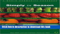 Books Simply in Season Full Online KOMP