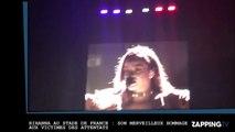 Rihanna au Stade de France : Son émouvant hommage aux victimes des attentats