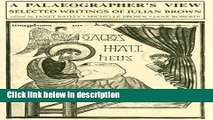 Books A Palaeographer s View: (Studies in Medieval and Early Renaissance Art History) Free Online