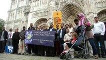 Musulmans et catholiques unis à la messe en hommage au père Hamel à Rouen