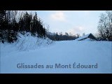 glissades au Mont Edouard
