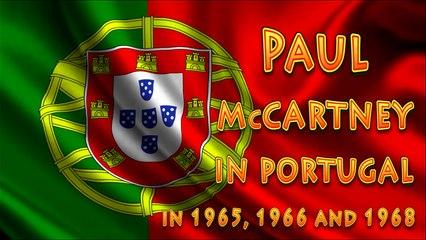 Paul McCartney Holidays in Portugal