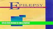 Books Epilepsy - Questions and Answers (Questions and Answers Series) (Questions   Answers) Free