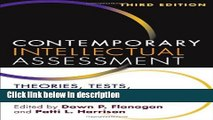 Ebook Contemporary Intellectual Assessment, Third Edition: Theories, Tests, and Issues Free Online