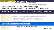 Ebook School Counseling and School Social Work Homework Planner Full Online
