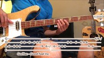 Awesome Funk Disco Reggae bass tracks (bass cover with tabs)