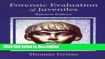 Ebook Forensic Evaluation of Juveniles Free Online