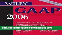 Books Wiley GAAP 2006: Interpretation and Application of Generally Accepted Accounting Principles