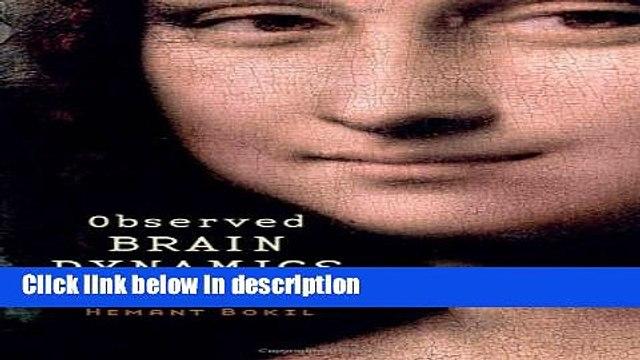 Ebook Observed Brain Dynamics Full Online