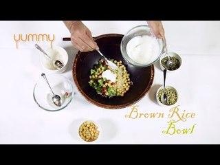 Yummy   Brown Rice Bowl