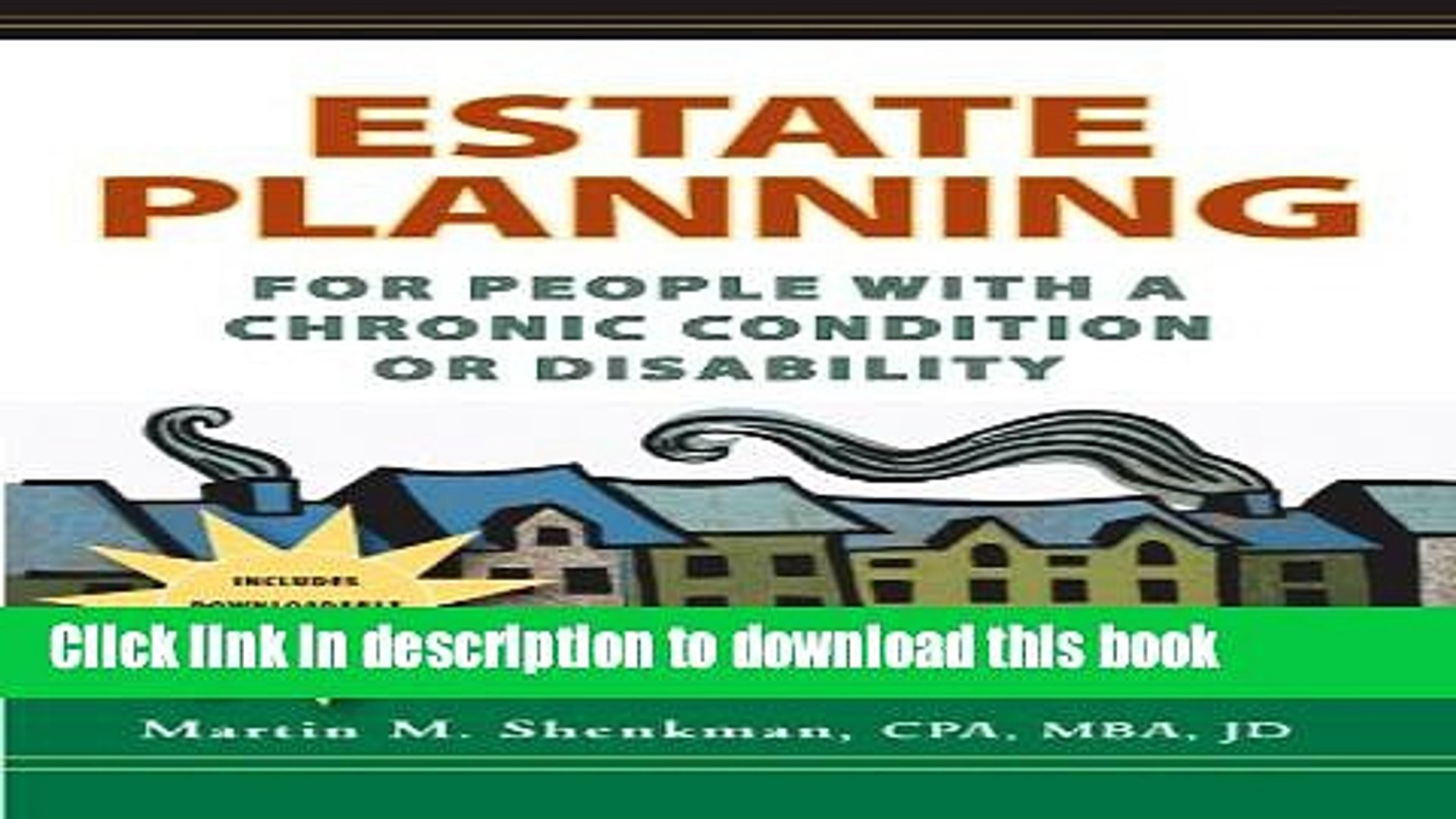 Books Estate Planning for People with a Chronic Condition or Disability: Options for People with a