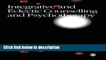 Ebook Integrative and Eclectic Counselling and Psychotherapy Free Online