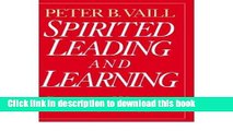 Books Spirited Leading and Learning: Process Wisdom for a New Age (Jossey-Bass Business