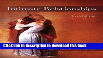 Ebook Intimate Relationships Free Download