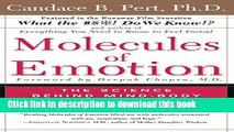 Download Molecules of Emotion: The Science Behind Mind-Body Medicine PDF Online