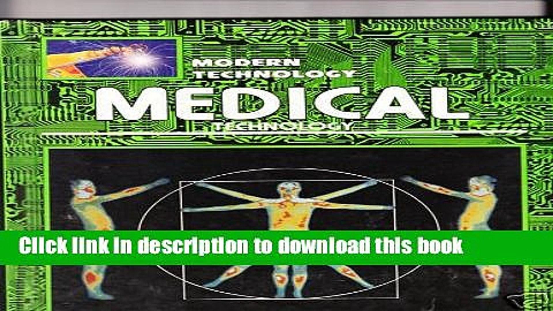 Books Medical technology (Modern technology) Free Online