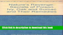 Books Nature s Revenge: The Secrets of Poison Ivy, Poison Oak, Poison Sumac, and Their Remedies
