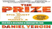 Books The Prize: The Epic Quest for Oil, Money   Power Free Online