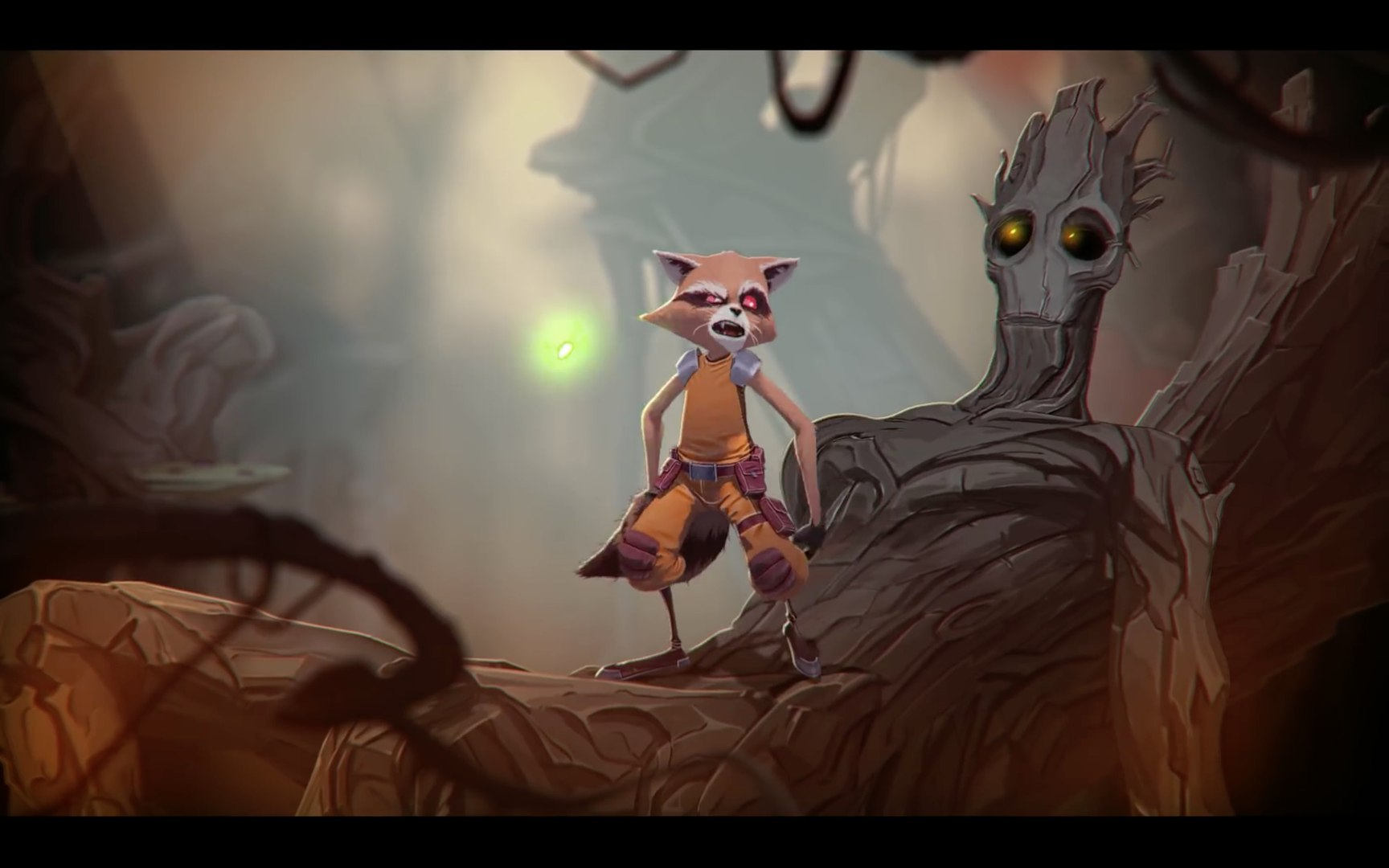 Marvel's Rocket Raccoon & Groot Animation Test Trailer