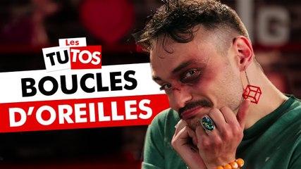 TUTO BOUCLES D'OREILLES