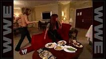 John Cena attacks Edge at his hotel room