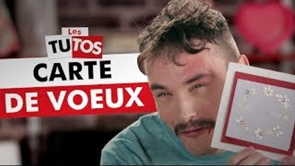 TUTO CARTE DE VOEUX