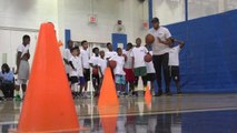 Towns stresses focus at his camp