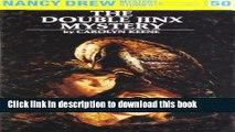 [Read PDF] The Double Jinx Mystery (Nancy Drew Mystery Stories, No. 50) Ebook Free