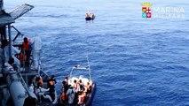 Méditerranée: 6.500 migrants secourus en quatre jours