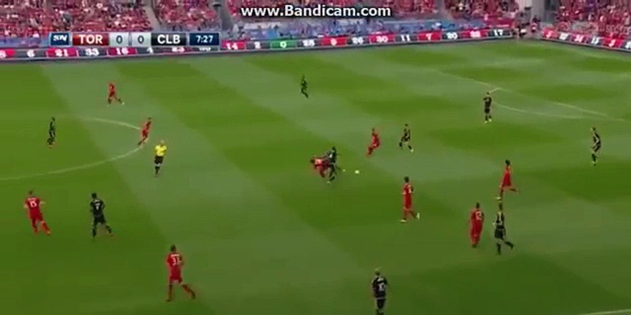 Sebastian Giovinco Amazing Long Shoot Goal - Toronto FC vs. Columbus Crew 3-0 - MLS 31.07.2016