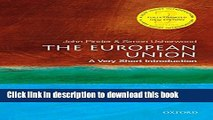 Ebook The European Union: A Very Short Introduction (Very Short Introductions) Free Online