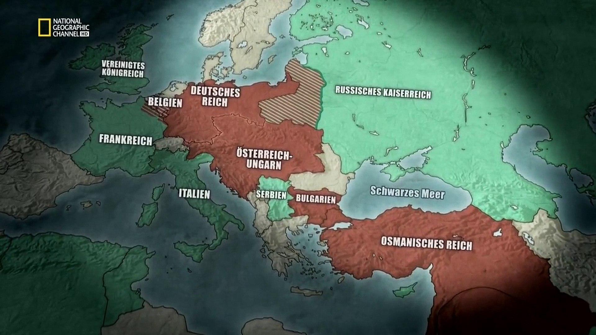 السلسلة الوثائقية الحرب العالمية الاولى   الجزء الثالث