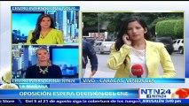 Oposición venezolana espera que el CNE anuncie fecha para activar siguiente paso del proceso del revocatorio