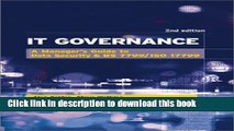 [Read PDF] It Governance: A Manager s Guide to Data Security   BS 7799/ISO 17799 Ebook Online