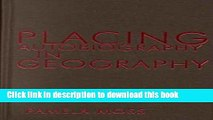 [Read PDF] Placing Autobiography in Geography (Space, Place and Society) Download Free