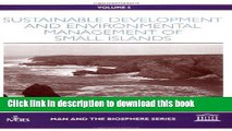 Ebook Sustainable Development and Environmental Management of Small Islands (Advances in