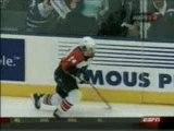 hockey incroyable mise en échec