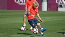 FC Barcelona training session: Training continues at Ciutat Esportiva