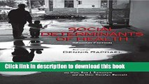 [PDF] Social Determinants of Health, 2nd Edition: Canadian Perspectives Download Full Ebook