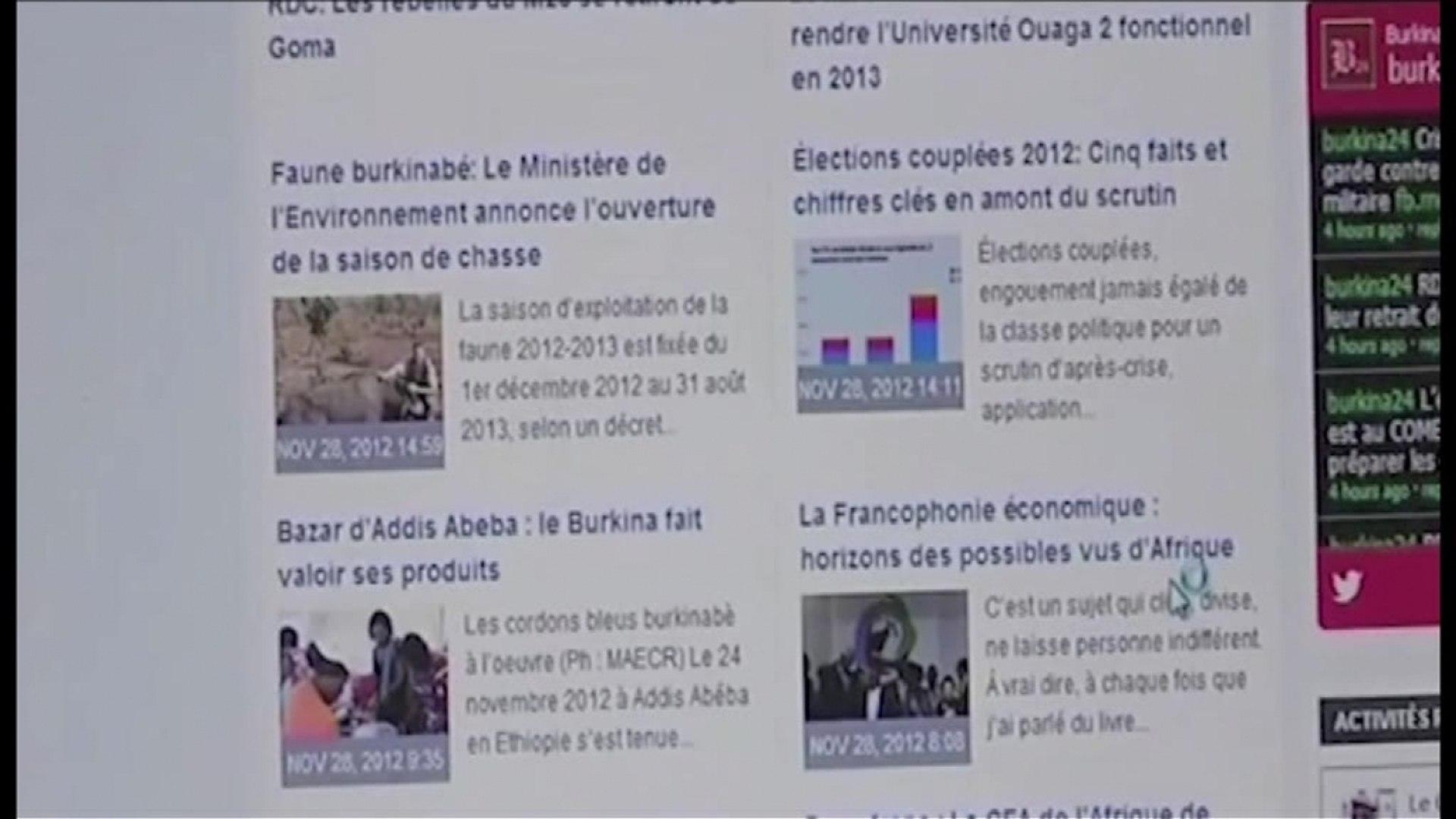Burkina faso, Subvention de l'Etat à la presse